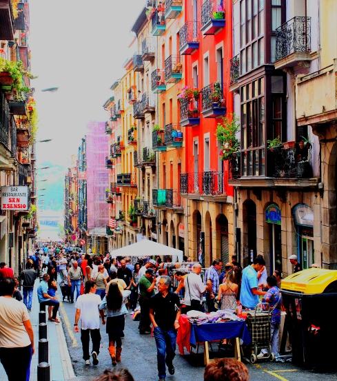 Rastro Junio. Rastro de Dos de Mayo, Bilbao