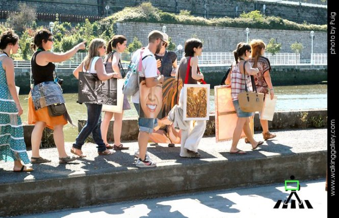 the walking gallery 3