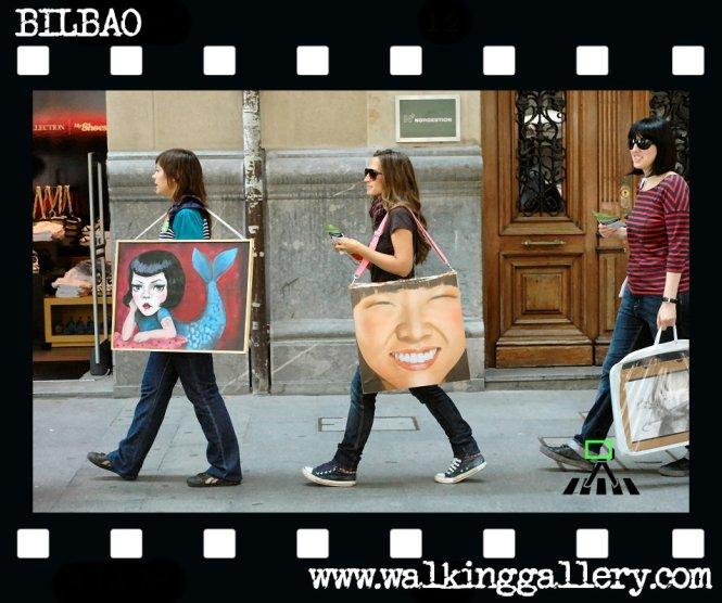 the walking gallery