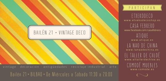 cartel Vintage Deco
